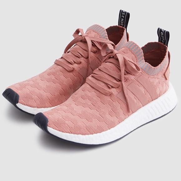 0ca7f50a1 Adidas Women s NMD R2 Primeknit in Raw Pink Gray